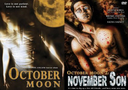 october moon collage