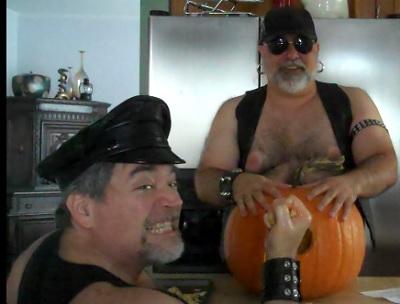 pumpkin with eric