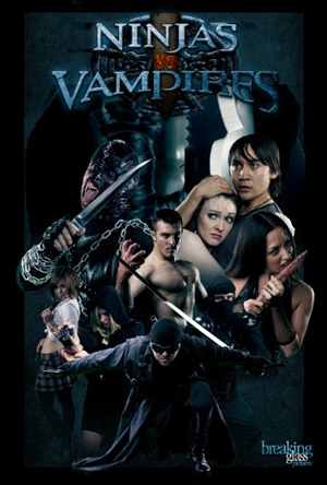 ninjas vs vampires cover