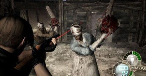 resident evil 4 chainsaws