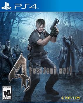 resident evil 4 cover