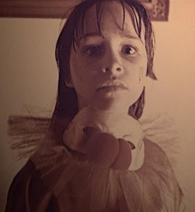 danielle-harris-clown-costume