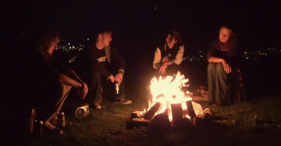 creepy campfire stories fire