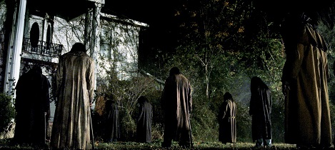 dark house baddies at night
