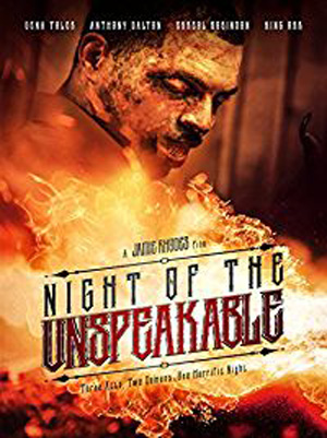 night of the unspeakable cover