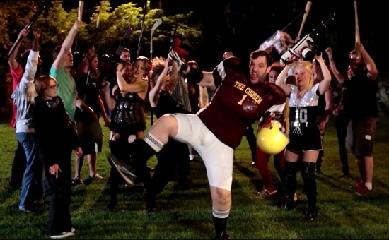 chainsaw maidens from hell football cheer