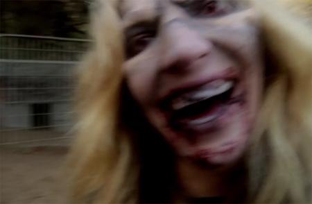 actin dead woman zombie