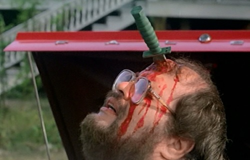 zombie 5 forehead knife