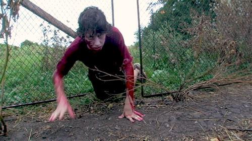 locked away zombie boy crawl