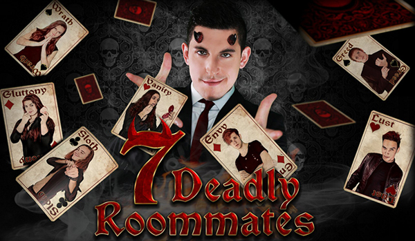 7 deadly roommates cover