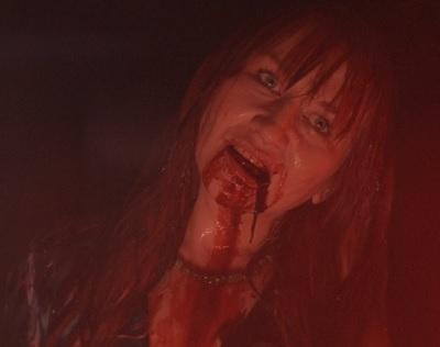 black room demon woman
