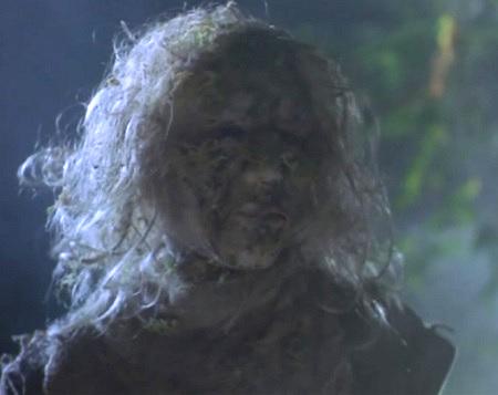 bog creatures zombie woman