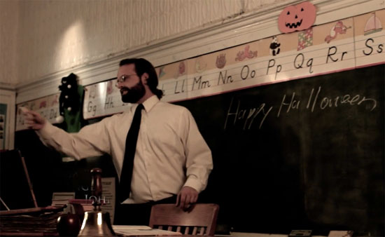 haunted maze teacher