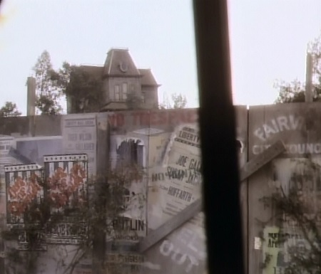 bates motel boarded up