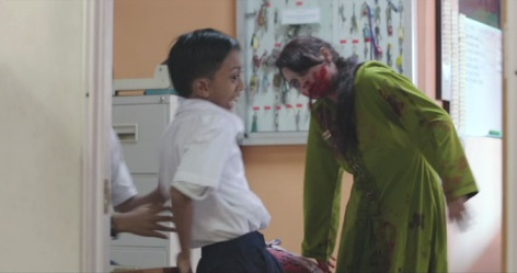kl zombie kid attacked