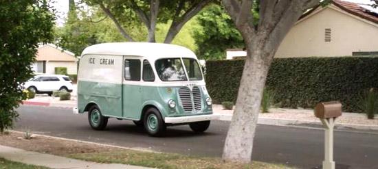 ice cream truck truck