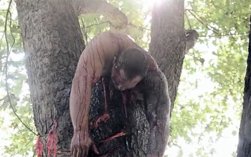 dooms chapel horror tree body
