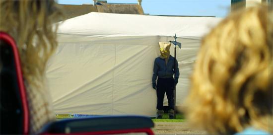scareycrows tent