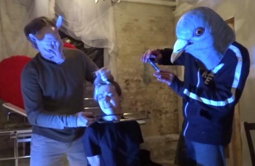 hooker with a hacksaw masks