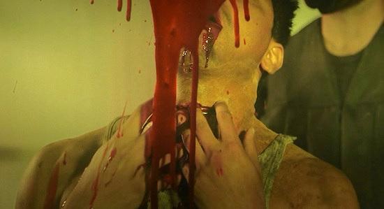 rave party massacre throat slice