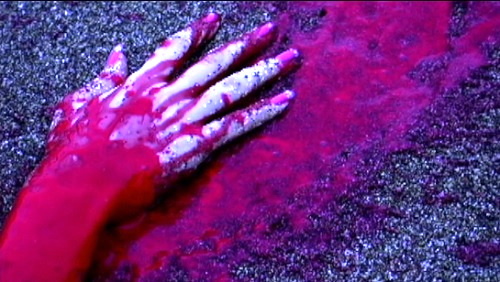 slaughter island bloody hand