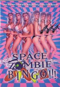 troma 2 space zombie bingo