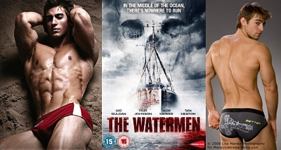 watermen hunk collage