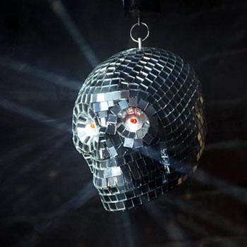 70s disco horror ball