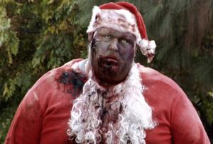 silent night zombie night santa