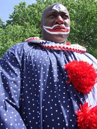 fear of clowns black