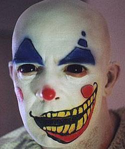 fear of clowns clown