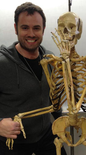 scotty mullen with skeleton