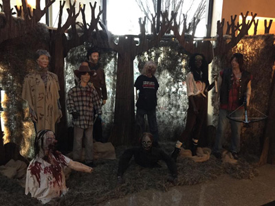NY horror show walking dead
