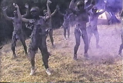 nudist colony of dead zombie dance