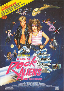 voyage of the rock aliens cover