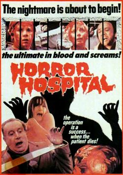 horror hospital cover