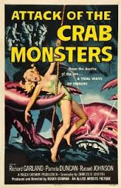 attack crab monster cover