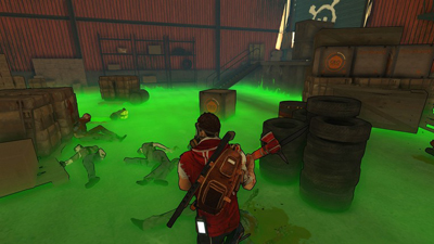 escape dead island gas