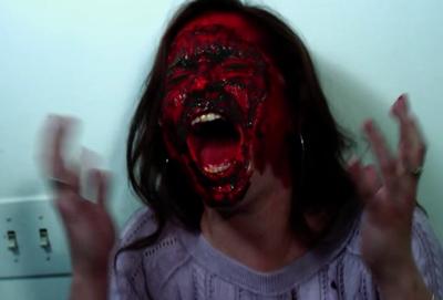 halloween hell face rip