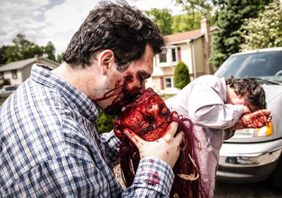 milfs vs zombies gore