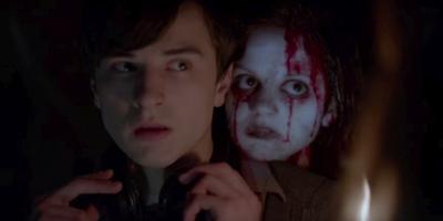 christmas horror story ghost girl