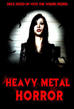 heavy metal horror cover