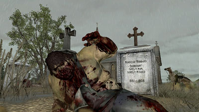 red dead redemption undead cemetery
