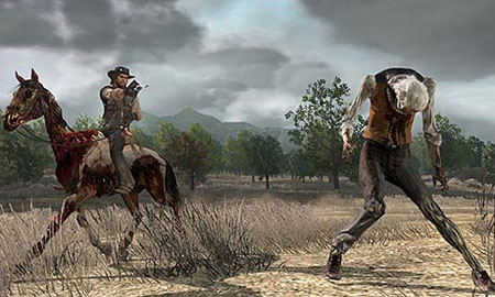 red dead redemption undead horse