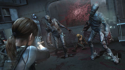 resident evil revelations monsters
