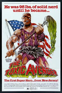 toxic avenger 1 cover