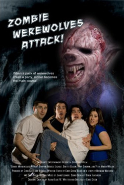 zombie werewolves attack cover