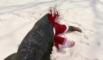snowshark santa