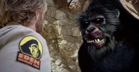 zoombie gorilla