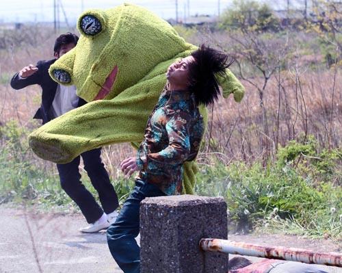 yakuza apocalypse frog